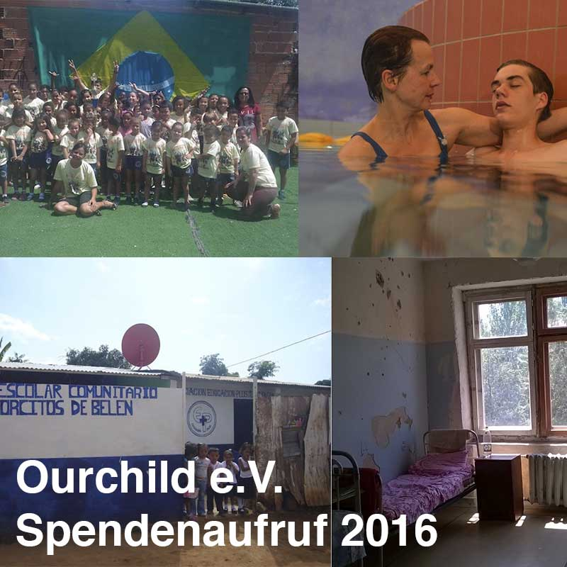 Ourchild Spendenaufruf